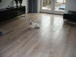 Eiken houten vloer white wash Haren Groningen concurrent kleur 10